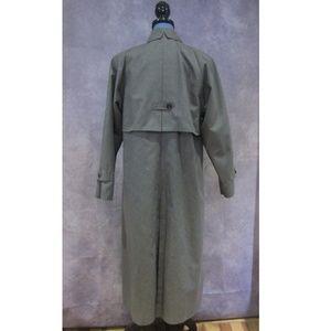 London Fog Jackets Amp Coats Vintage Cape Back Gray Dress